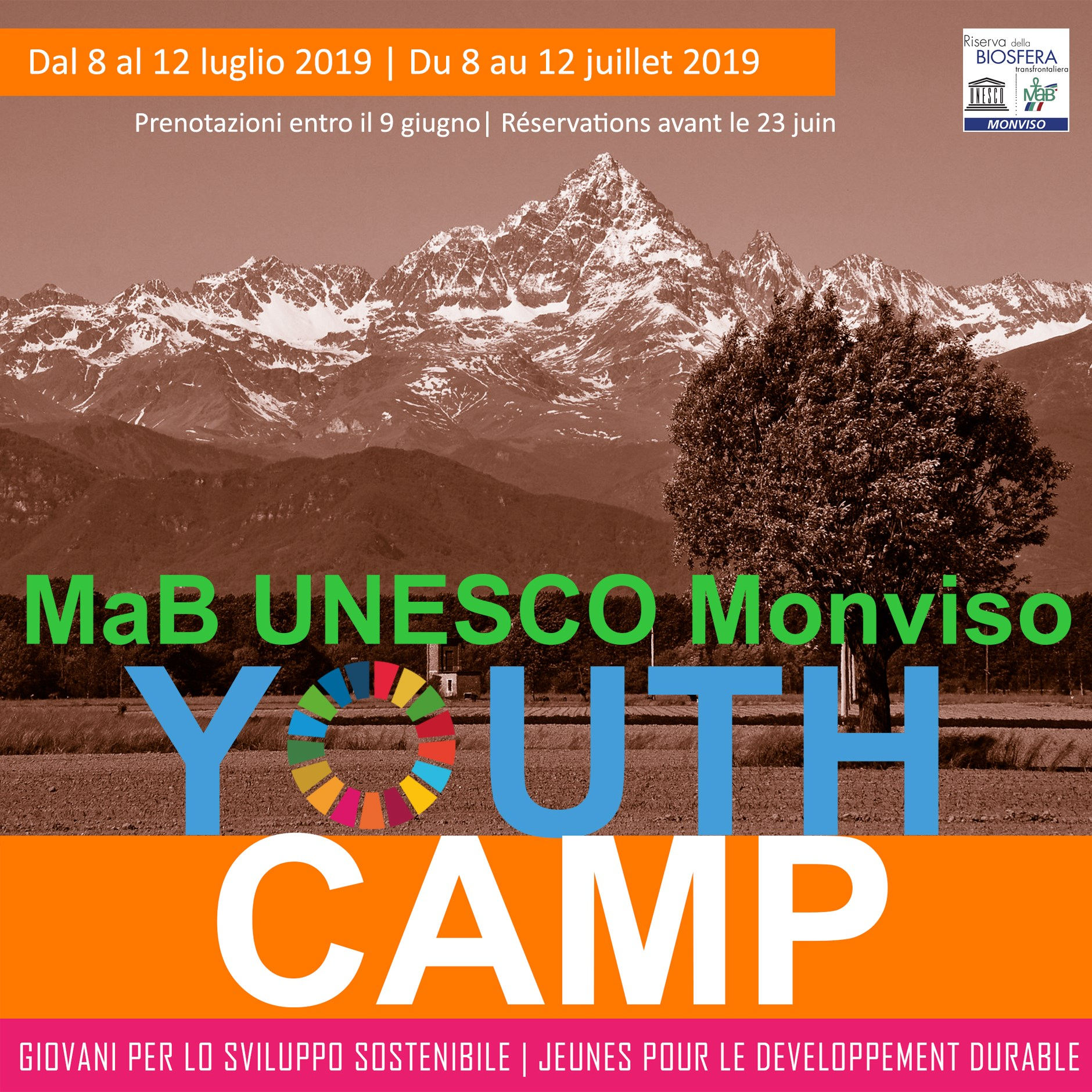 MAB UNESCO Monviso Youth Camp
