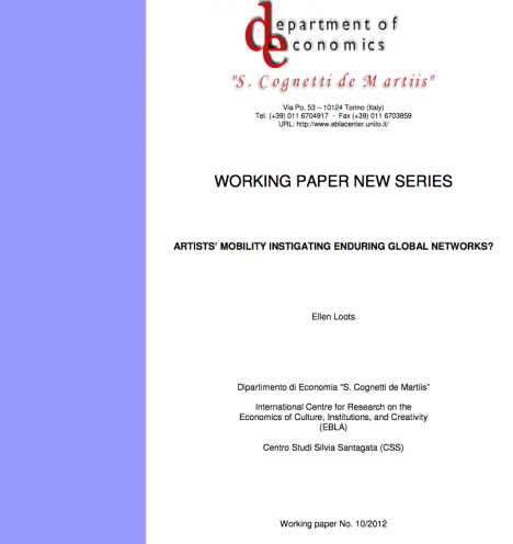 paper convegno culture as a network